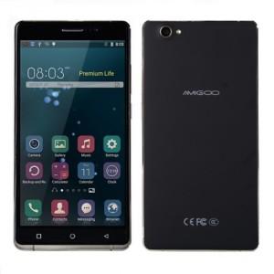 AMIGOO H6 6.0 Zoll 3G qHD Phablet mit Android 5.1, MTK6580 Quad Core, 1GB RAM, 8GB Speicher, 8MP+5MP Kameras 3.200mAh Akku