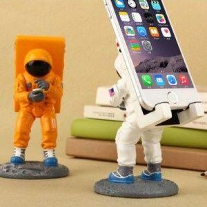 Astronaut Spaceman Smartphone/Phablet Ständer für alle gängigen Geräte wie Samsung Galaxy, iPhone, Doogee, Meizu usw.
