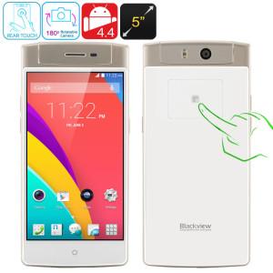 Blackview Acme 5.0 Zoll FullHD 3G Smartphone mit Android 4.4, MTK6592 Octa Core CPU 2GHz, 2GB RAM, 16GB Speicher, drehbare 18MP Kamera, 2.200mAh Akku
