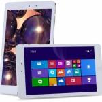 Chuwi Hi8 8.0 Zoll WUXGA Dual Boot Tablet PC mit Android 4.4 & Windows10, Intel Z3736F 2.16GHz Quad Core, 2GB RAM, 32GB Speicher, 2MP+0.3MP Kameras, 4.000mAh Akku