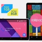 CHUWI Vi7 7.0 Zoll 3G WSVGA Phablet mit Android 5.1, Intel SoFIA AtomX3 3G-R Quad Core 1.0GHz, 1GB RAM, 8GB Speicher, 2MP+0.3MP Kameras, 2.500mAh Akku