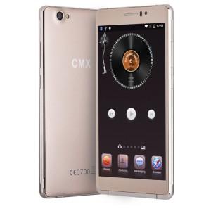CMX C10 6.0 Zoll 3G qHD Smartphone mit Android 5.1, Quad Core MTK6580 1.3 GHz, 1GB RAM, 8GB Speicher, 8MP+5MP Kameras, 2.500mAh Akku
