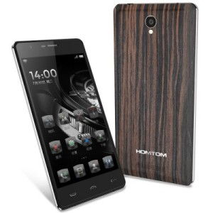 DOOGEE HOMTOM HT5 5.0 Zoll LTE HD Smartphone mit Android 5.1, MTK6735 64bit Quad Core 1.0GHz, 1GB RAM, 16GB Speicher, 13MP+5MP Kameras, 4.250mAh Akku