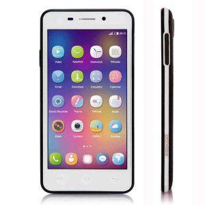 DOOGEE LEO DG280 – 4.5 Zoll 3G FWVGA Smartphone mit Android 5.0, MTK6582 Quad Core 1.3GHz,  1GB RAM, 8GB Speicher, 5MP & 1,3MP Kameras, 1.800mAh Akku