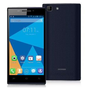 DOOGEE TURBO Mini F1 4.5 Zoll LTE qHD Smartphone mit Android 4.4.4, MTK6732 Quad Core, 1GB RAM, 8GB Speicher, 8MP+5MP Kameras, 2.000mAh Akku
