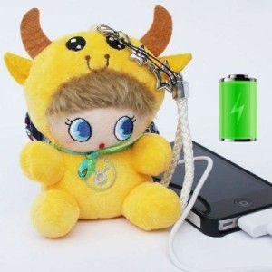 EINENG 5.200mAh tragbare USB Power Bank als Puppe für alle gängigen Smartphones, Phablets, Tablet PCs, eZigaretten usw.