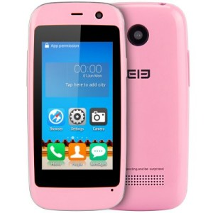 Elephone Q 2.45 Zoll 3G WQVGA Smartphone mit Android 4.4, MTK6572 Dual Core 1.2GHz, 512MB RAM, 4GB Speicher, 2MP+0.3MP Kameras, 650mAh Akku