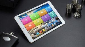 FNF ifive Air 9.7 Zoll Tablet PC mit Android 4.4, RK3288 Quad Core, 2GB RAM, 32GB Speicher, 4K Retina Display, 8MP+2MP Kameras, Bluetooth, Miracast, 8.200mAh Akku