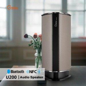 Gsou U200 Touch Control kabellos NFC Bluetooth Lautsprecher mit Mikrofon für Freisprecheinrichtung, SD/TF Card, für alle Smartphones, MP3-/MP4-Player, iPod, usw.