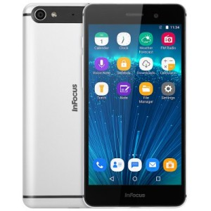 Infocus M560 5.2 Zoll FHD LTE Smartphone mit Android 5.1, MTK6753 64bit Octa Core 1.3GHz, 2GB RAM, 16GB Speicher, 13MP+5MP Kameras, 2.450mAh Akku