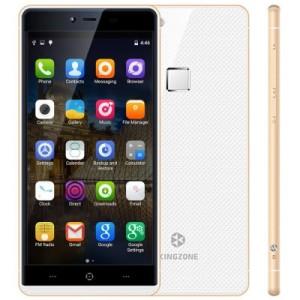 Kingzone K2 5.0 Zoll LTE FullHD Smartphone mit Android 5.1, MT6753 64bit Octa Core 1.3GHz, 3GB RAM, 16GB Speicher, 13MP+8MP Kameras, 2.600mAh