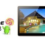 Laude P98 9.6 Zoll LTE HD Tablet Phone/PC mit Android 5.1, MTK6735 Quad Core 64-bit 1.3GHz, 1GB RAM, 16GB Speicher, 4.500mAh Akku