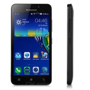 Lenovo A3600d 4.5 Zoll LTE FWVGA Smartphone mit Android 4.4.2, MTK6582M + 6290 Cortex A7 Quad Core 1.3GHz, 512MB RAM, 4GB Speicher, 2MP+0.3MP Kameras, 1.700mAh Akku