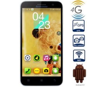 Lenovo A806 5.0 Zoll LTE HD Smartphone mit Android 4.4, MTK6592 Octa Core 1.7GHz, 2GB RAM, 16GB Speicher, 13MP+5MP Kameras, 2.500mAh Akku