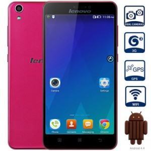 Lenovo S850 5.0 Zoll 3G HD Smartphone mit Android 4.4, MTK6582 Quad Core 1.3GHz, 1GB RAM, 16GB Speicher, 13MP+5MP Kameras (Sony), 2.150mAh Akku