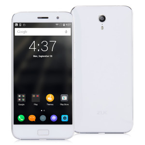 LENOVO ZUK Z1 5.5 Zoll LTE FHD Phablet mit CyanogenMod 12.1 (Android 5.1), Qualcomm Snapdragon MSM8974 Quad Core 2.5GHz, 3GB RAM, 64GB Speicher, 13MP+8MP Kameras (Sony), 4.100mAh Akku