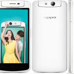 Oppo N1 Mini N5117 5.0 Zoll LTE HD Smartphone mit Android 4.3, Qualcomm Snapdragon MSM8928 Quad Core 1.6GHz, 2GB RAM, 16GB Speicher, 13MP drehbare Kamera, 2.140mAh Akku