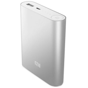Original Xiaomi High Capacity 10.400mAh Portable Mobile Power Bank für alle gängigen Smartphones, Phablets und Tablet PCs