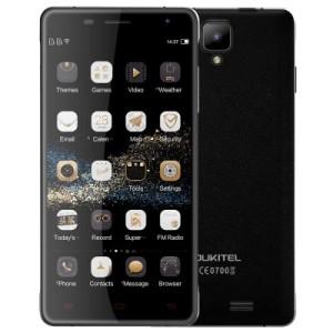OUKITEL K4000 Pro 5.0 Zoll LTE HD Smartphone mit Android 5.1, MTK6735 Quad Core 1.0GHz, 2GB RAM, 16GB Speicher, 13MP+5MP Kameras,  4.600mAh Akku