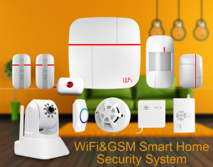 PATROL HAWK Vcare WiFi Smart Home Sicherheits-/Überwachungsystem 433MHz