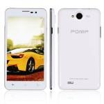 POMP W99 5.0 Zoll 3G HD Smartphone mit Android 4.2, MTK6589 Quad Core 1.2GHz, 1GB RAM, 4GB Speicher, 8MP+2MP Kameras, 1.700mAh Akku