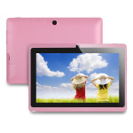 Q88 Plus 7.0 Zoll Tablet PC mit Android 4.4, Allwinner A33 Quad Core 1.3GHz, 512MB RAM, 4GB Speicher, 0.3MP+0.3MP Kameras, 2.500mAh Akku