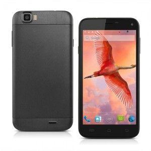 ROCBOC Ninja N1 – 5.0 Zoll 3G HD Smartphone mit Android 4.2, MTK6582 Quad Core, 1GB RAM, 8GB Speicher, 8MP & 5MP Kameras, 2.200mAh Akku