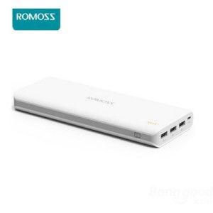 ROMOSS Sense 9 25.000mAh mobile Power Bank mit drei USB Ausgängen, Ladegerät für alle gängigen Smartphones, Phablets, Tablet PCs