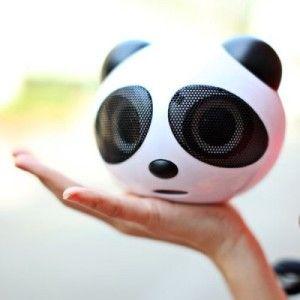 RX202 Panda HiFi USB2.0 Lautsprecher mit 3.5mm Line-In für MP3 Player, Smartphones, iPods usw.
