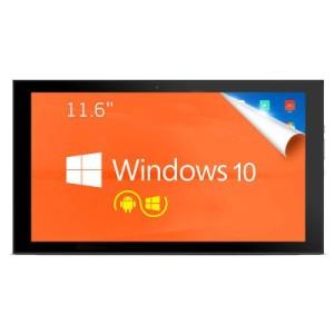 TECLAST TBook 16 – 11.6 Zoll FHD Ultrabook Tablet PC mit Windows 10 + Android 5.1, Intel Atom Z8300 Quad Core 1.44GHz, 4GB RAM, 64GB Speicher, 2MP & 2MP Kameras, 8.000mAh Akku