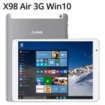 TECLAST X98 Air 9.7 Zoll 3G QXGA Tablet Phone mit Dual Boot Android 5.0 & Windows 10, Intel Atom Z3735F 64 bit CPU 1.83GHz, 2GB RAM, 64GB Speicher, 8.500mAh Akku