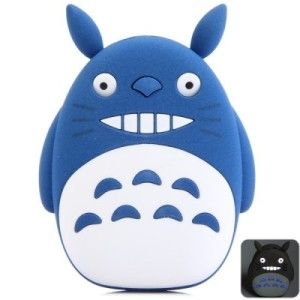 Totoro 12.000mAh 2.1A USB Interface schnell-ladende mobile Power Bank mit LED Power Licht