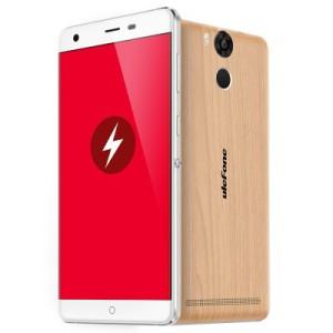 Ulefone Power 5.5 Zoll LTE FullHD Phablet mit Android 5.1, MTK6753 64bit Octa Core 1.3GHz, 3GB RAM, 16GB Speicher, 13MP+5MP Kameras (Sony), 6.050mAh Akku