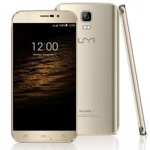 UMI Rome X 5.5 Zoll 3G HD Phablet mit Android 5.1, MTK6580 Quad Core 1.3GHz, 1GB RAM, 8GB Speicher, 13MP+2MP Sony Kameras, 2.500mAh Akku