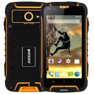 VCHOK F6 – 4.5 Zoll 3G qHD Outdoor Smartphone mit Android 4.4, MTK6582 Quad Core 1.3GHz, 1GB RAM, 8GB Speicher, 8MP & 2MP Kameras, 2.500mAh Akku