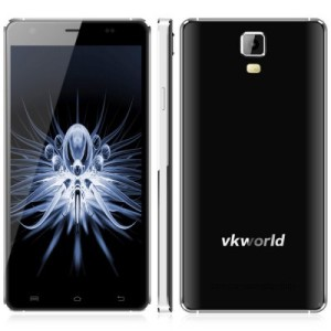 VKWORLD Discovery S1 5.5 Zoll LTE FullHD 3D Phablet mit Android 5.1, MTK6735 Quad Core 1.3GHz, 2GB RAM, 16GB Speicher, 13MP+5MP Kameras, 3.050mAh Akku
