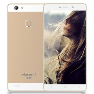 VKWORLD Discovery S2 – 5.5 Zoll LTE FHD 3D Phablet mit Android 5.1, MTK6735 Quad Core 1.5GHz, 2GB RAM, 16GB Speicher, 13MP & 5MP Kameras, 3.200mAh Akku