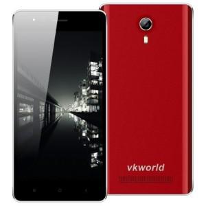 VKworld F1 4.5 Zoll 3G WVGA Smartphone mit Android 5.1, MTK6580 Quad Core 1.3GHz, 1GB RAM, 8GB Speicher, 5MP+2MP Kameras, 1.850mAh Akku