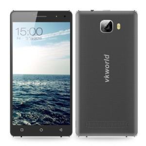 VKworld T3 5.0 Zoll LTE HD Smartphone mit Android 5.1, MTK6735 64bit Quad Core 1.0GHz, 2GB RAM, 16GB Speicher, 13MP+5MP Kamera, 2.500mAh Akku