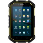 YSF M16 – 7.0 Zoll LTE WXGA Phablet mit Android 4.4, MTK8732VC 64bit Quad Core 1.3GHz, 2GB RAM, 16GB Speicher, 13MP+2MP Kameras, 12.000mAh Akku, IP67 Waterproof/Dustproof/Shakeproof