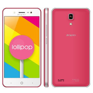 ZOPO ZP330 4.5 Zoll LTE Smartphone mit Android 5.1, MTK6735 Quad Core 1.0GHz, 1GB RAM, 8GB Speicher, IPS Display, 5MP Kamera