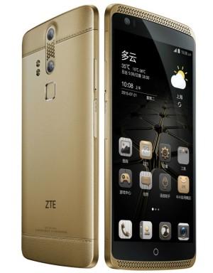 ZTE Axon Ultimate / Lux – 5.5 Zoll LTE QHD Phablet mit Android 5.0, Snapdragon 810 Octa Core 2.0GHz, 4GB RAM, 128GB Speicher, 13MP & 8MP Kameras, 3.000mAh Akku