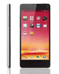 ZTE Nubia Z5S Mini – 4.7 Zoll 3G HD Smartphone mit Android 4.2.2, Snapdragon APQ8064T Quad Core 1.7GHz, 2GB RAM, 16GB Speicher, 13MP & 5MP Kameras, 2.300mAh Akku