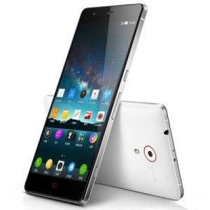 ZTE Nubia Z7 5.5 Zoll LTE WQHD Phablet mit Android 4.4, Snapdragon 801 Quad Core 2.5GHz, 3GB RAM, 32GB Speicher, 13MP+5MP Kameras, 3.100mAh Akku