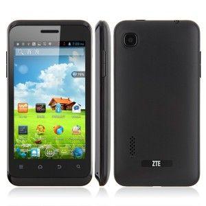 ZTE V889S 4.0 Zoll Smartphone mit Android 4.1, MTK MT6577 Dual Core 1GHz, 512MB Ram, 4GB Speicher, 3.2MP Kamera, 1.600mAh Akku