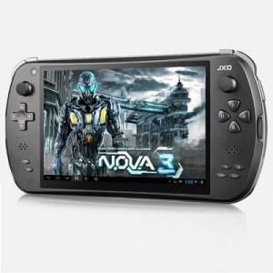 JXD S7800B 7.0 Zoll WXGA Game Tablet PC mit Android 4.4, RK3188 Quad Core 1.6GHz, 2GB RAM, 8GB Speicher, Dual Kameras, 5.000mAh Akku