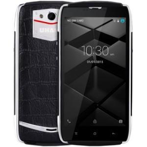 UHANS U200 5.0 Zoll LTE HD Smartphone mit Android 5.1, MTK6735 64bit Quad Core 1.0GHz, 2GB RAM, 16GB Speicher, 13MP+5MP Kameras, 3.500mAh Akku